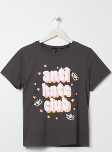 T-shirt Sinsay w młodzieżowym stylu z bawełny