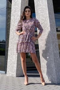 Sukienka MERRIBEL mini z długim rękawem