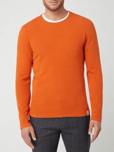 Sweter McNeal z bawełny z okrągłym dekoltem