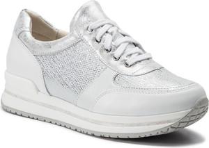 Buty sportowe Quazi z nubuku sznurowane z płaską podeszwą