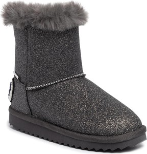 Czarne buty dziecięce zimowe Pepe Jeans
