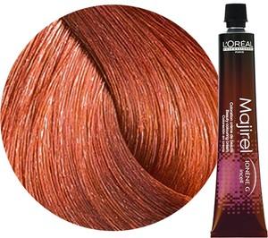 L'Oreal Paris Loreal Majirel   Trwała farba do włosów - kolor 7.44 blond miedziany głęboki 50ml - Wysyłka w 24H!