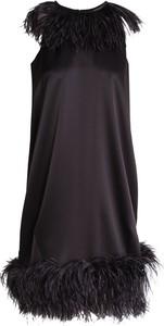 Sukienka Gianluca Capannolo bez rękawów z okrągłym dekoltem mini