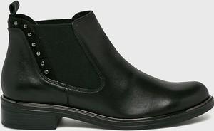 Czarne botki Caprice