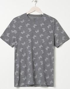 T-shirt Sinsay z krótkim rękawem z nadrukiem w młodzieżowym stylu