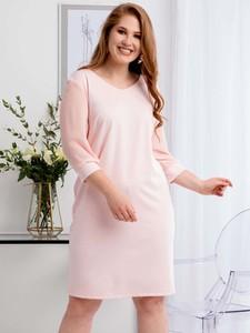 Sukienka KARKO z tiulu mini ołówkowa