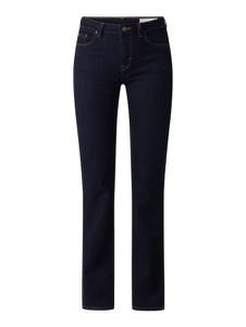 Granatowe jeansy Esprit