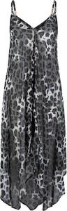 Sukienka bonprix bpc selection z szyfonu