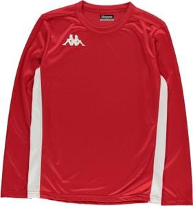 Czerwona koszulka dziecięca Kappa