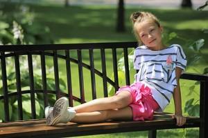 Różowa bluzka dziecięca Qba Kids z bawełny