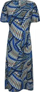 Sukienka kama-elite.pl z krótkim rękawem w stylu casual