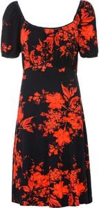 Sukienka bonprix mini z krótkim rękawem