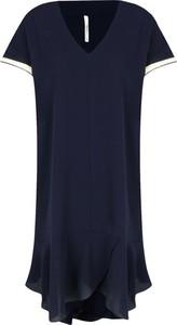 Sukienka Pepe Jeans z krótkim rękawem w stylu casual