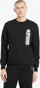 Czarna bluza Puma z bawełny w sportowym stylu