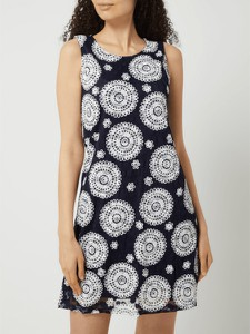 Granatowa sukienka APRICOT