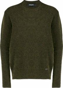 Zielony sweter Dsquared2