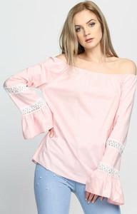 Born2be różowa bluzka espana