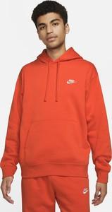 Czerwona bluza Nike z dzianiny