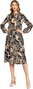 Sukienka Nife w stylu casual z długim rękawem