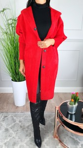 Czerwony płaszcz Hypnotize Butik