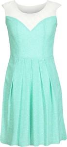 Sukienka Fokus z szyfonu bez rękawów