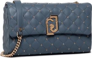 Niebieska torebka Liu-Jo pikowana mała na ramię