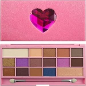 Makeup Revolution, Chocolate Love, paleta 16 cieni, 22 g