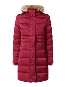 Czerwony płaszcz Calvin Klein w stylu casual