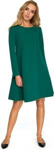Sukienka Stylove z długim rękawem rozkloszowana mini