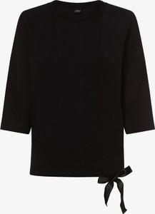 Granatowa bluza S.Oliver Black Label w stylu casual z dresówki