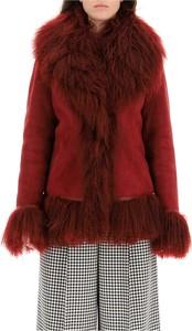 Czerwony płaszcz Saks Potts w stylu casual