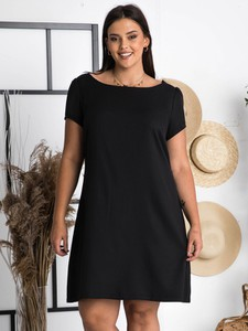 Sukienka KARKO z krótkim rękawem mini w stylu casual