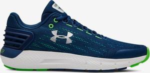 Niebieskie buty sportowe Under Armour z płaską podeszwą
