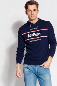 Sweter Lee Cooper z dzianiny w młodzieżowym stylu