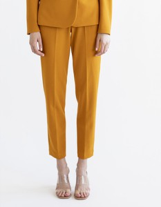 Brązowe spodnie Marlu
