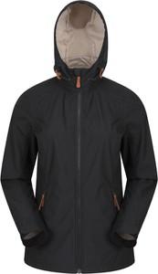 Czarna kurtka Mountain Warehouse w sportowym stylu z tkaniny krótka