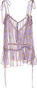 Bluzka MSGM z dekoltem w kształcie litery v