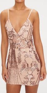 Sukienka Kendallme z dekoltem w kształcie litery v na ramiączkach
