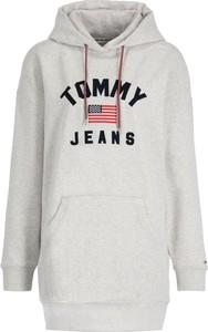 Sukienka Tommy Jeans mini z długim rękawem w stylu casual