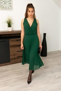 Zielona sukienka Butik Ecru