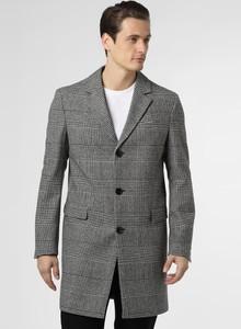Czarny płaszcz męski Drykorn