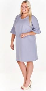 Sukienka Fokus z długim rękawem z dekoltem w kształcie litery v