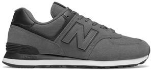 Brązowe buty sportowe New Balance 574 ze skóry