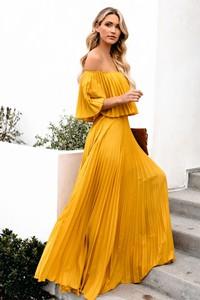 9f915b1e7 Żółte sukienki, kolekcja lato 2019