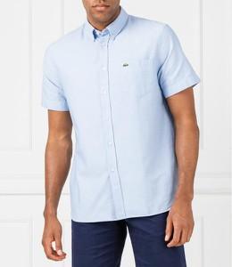 Koszula Lacoste w stylu casual z krótkim rękawem