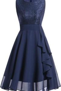 Sukienka Kendallme bez rękawów mini z okrągłym dekoltem