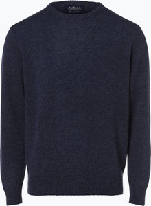Granatowy sweter Mc Earl w stylu casual