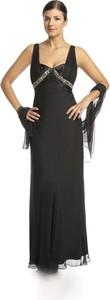 Czarna sukienka Fokus rozkloszowana