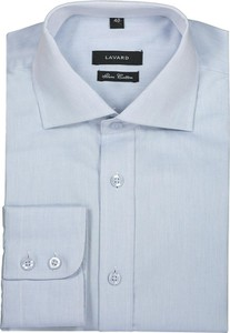 Niebieska koszula Lavard z bawełny