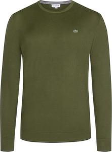 Zielony sweter Lacoste